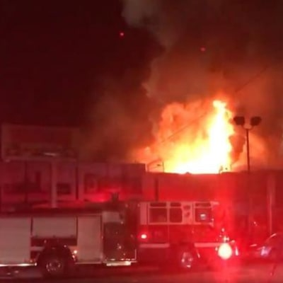 At Least Nine People Killed in Fire at Oakland Warehouse Party