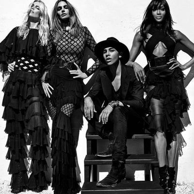 Cindy Crawford, Claudia Schiffer and Naomi Campbell Stage an 'Epic Reunion' of Supermodels for Balmain