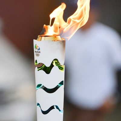 Protesters Extinguish Olympic Flame During Torch Relay