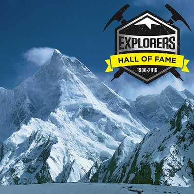 Explorers Hall of Fame: 1900-2016