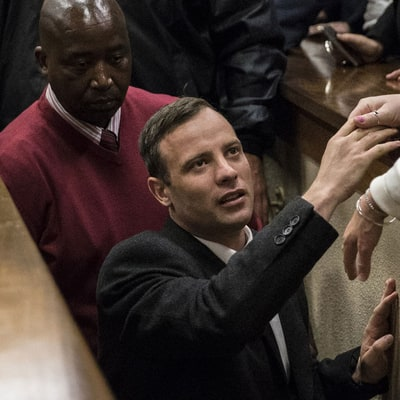 Oscar Pistorius Sentenced to Six Years in Jail for Reeva Steenkamp Murder