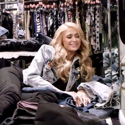 Paris Hilton Sorts Through All Her '00s Clothing (104 Low-Slung Jeans and Counting)