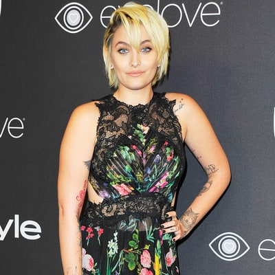 Paris Jackson Makes Her Red Carpet Debut at Golden Globes Afterparty, Looks Stunning in Floral Gown