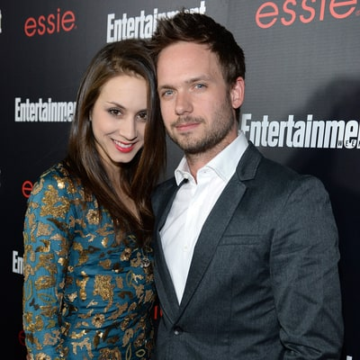 Patrick J. Adams and Troian Bellisario Marry at Camping-Themed Wedding in Southern California: Photos