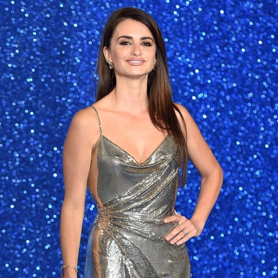 Penelope Cruz's Metallic Gown Is Part Old Hollywood, Part Vegas and All Style Crush