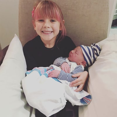 Pink's Daughter Willow Meets Her Baby Brother Jameson — See the Adorable Photo