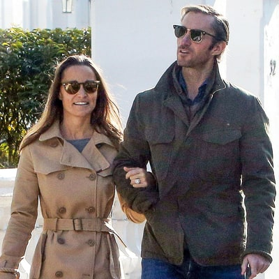 Pippa Middleton and James Matthews Finally Spotted Together for First Time Since Engagement