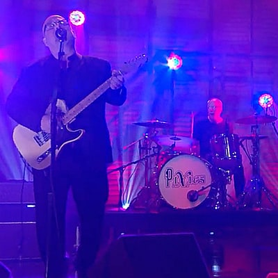 Watch Pixies Perform Raucous New Song 'Bel Esprit' on 'Conan'