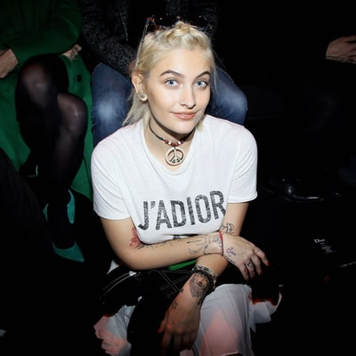 Paris Jackson Takes In Paris Men's Fashion Week With Bella Hadid, A$AP Rocky and More