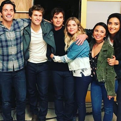 Pretty Little Liars' Lucy Hale, Ashley Benson Share Adorable BTS Photos on Final Day of Filming: 'Bittersweet Feelings'