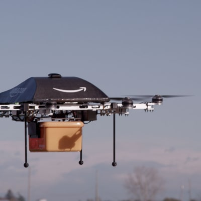 Amazon's Next Landing Pad for Drones Might Surprise You