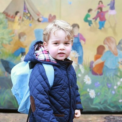 Where to Get Prince George's First-Day-of-School Coat