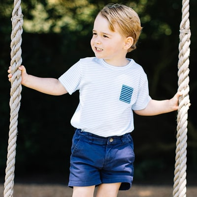 Prince George Swings Into 3rd Birthday With Absolutely Adorable New Photos