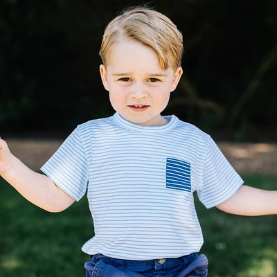 Here's Exactly What Prince George Is Wearing in His 3rd Birthday Photos