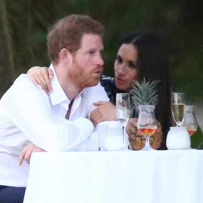 Prince Harry 'Busted Out With Some Dance Moves' for Meghan Markle at Friend's Beachside Jamaica Wedding