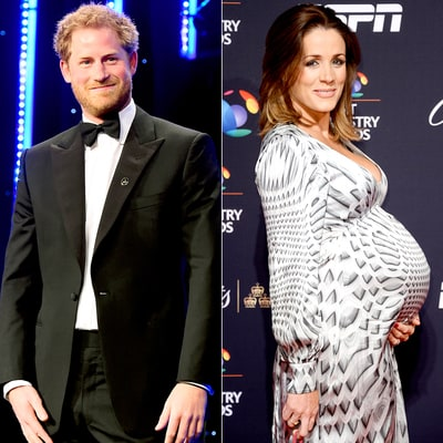 Prince Harry and His Pregnant Ex-Girlfriend Natalie Pinkham Attend the Same Event: See the Photos