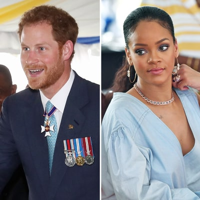 Prince Harry Meets Rihanna During Royal Tour of the Caribbean