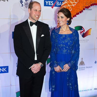 Kate Middleton Dazzles in Sequin Gown at Bollywood Event With Prince William: Pics