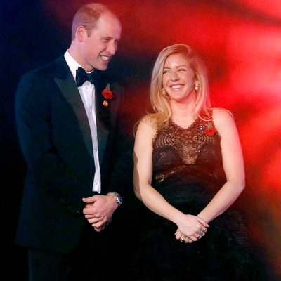 Prince William Parties With Ellie Goulding at Star-Studded Kensington Palace Charity Gala