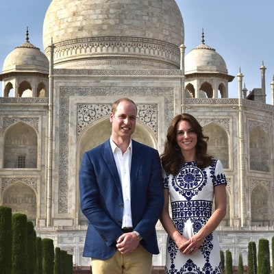 Duchess Kate Got 'Emotional' During Visit to Taj Mahal With Prince William