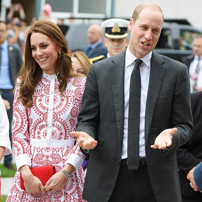 Prince William Jokes About Changing Diapers During Canada Visit