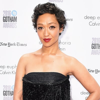 Ruth Negga Makes a Case for Gloss With This Burgundy Pout