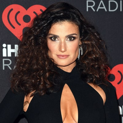 Idina Menzel Shows Off Her Diamond Engagement Ring on the Red Carpet