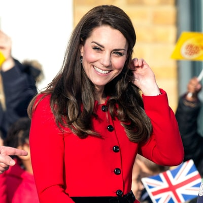 Duchess Kate Rocked Two Bold Skirt Suits in One Day