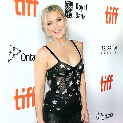 Kate Hudson Turns Up the Heat at TIFF in a Sheer Bustier Dress