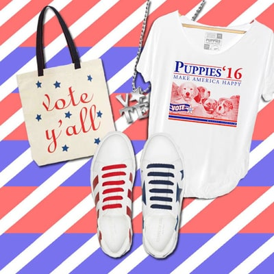 Rock These Election-Themed Styles