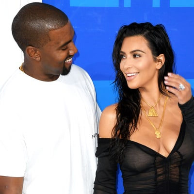 Kim Kardashian Wore a New 20-Carat Diamond Ring From Kanye West at the VMAs
