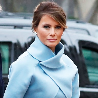 Melania Trump Channels Jackie Kennedy's Style at the Inauguration