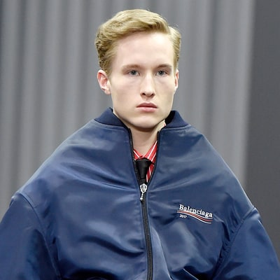 Balenciaga's New Runway Collection Is Inspired by Bernie Sanders