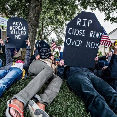 how progressive activists are leading the trump resistance