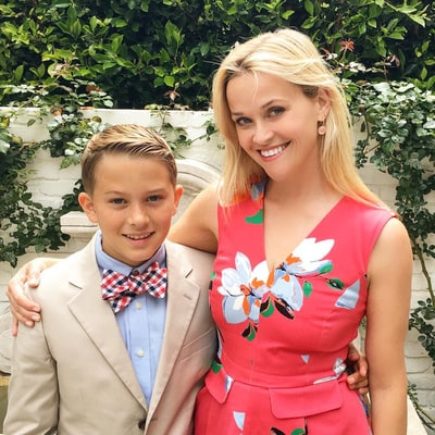'Proud Mom' Reese Witherspoon Celebrates Son Deacon's Elementary Graduation