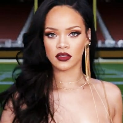 Rihanna Stuns in New Promo for Super Bowl and Grammys: Watch