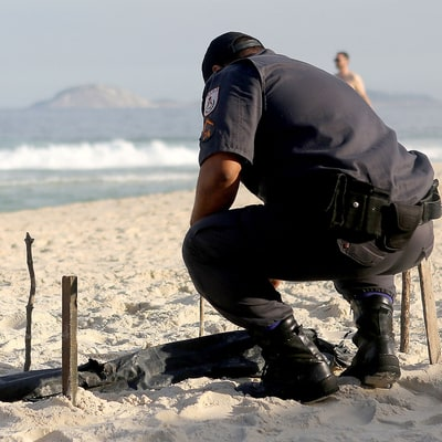 Human Body Parts Wash Ashore at Rio Olympics Volleyball Site, Copacabana Beach
