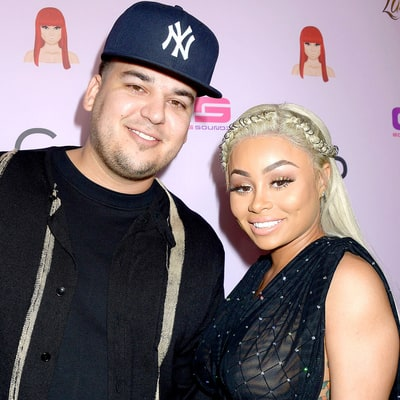 Rob Kardashian Praises Pregnant Blac Chyna's Topless Photo Shoot: 'Proud of U Mama'