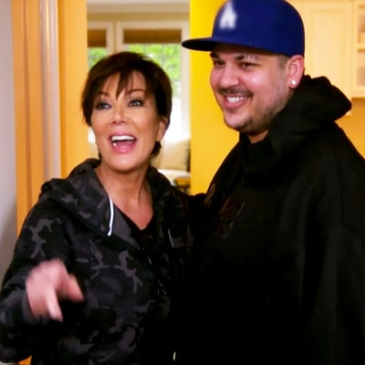 Rob Kardashian Makes His 'Keeping Up With the Kardashians' Return, Reunites With His Famous Family: Watch