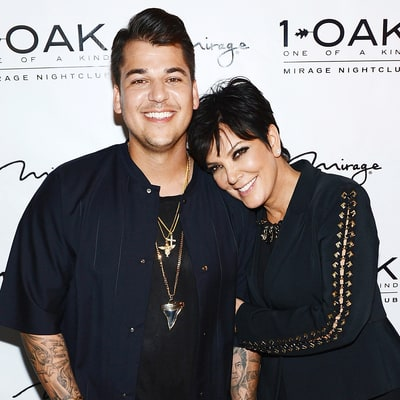 Rob Kardashian Posts Photo of 'Pretty Mama' Kris Jenner Amid Blac Chyna Drama