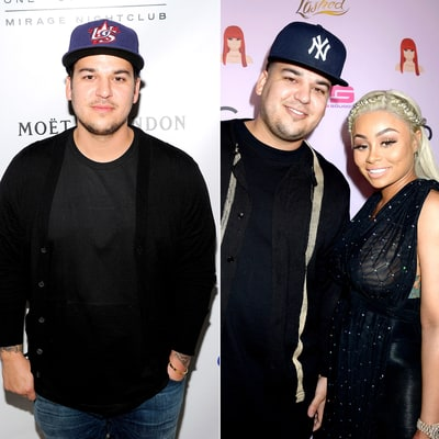 Rob Kardashian Walks His First Red Carpet Since 2013: See Him Then and Now