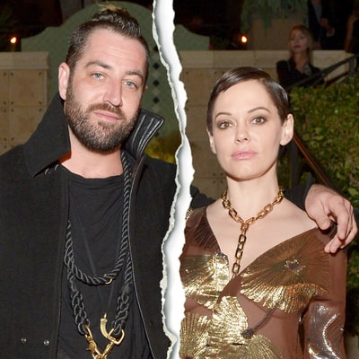Rose McGowan Files for Divorce From Husband Davey Detail After Two Years of Marriage
