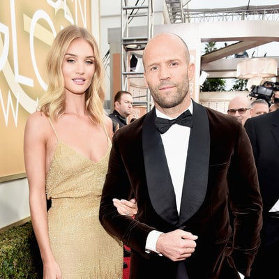Rosie Huntington-Whiteley and Jason Statham Are Engaged! See Her Diamond Ring