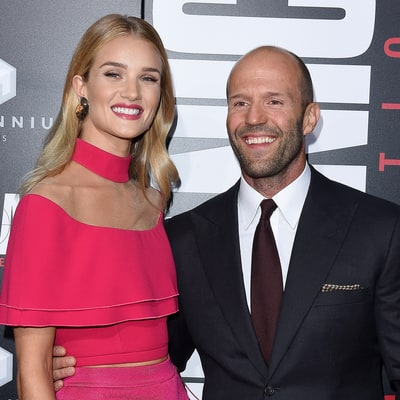 Rosie Huntington-Whiteley Is Pregnant, Expecting First Child With Fiance Jason Statham — See Her Bikini Baby Bump!