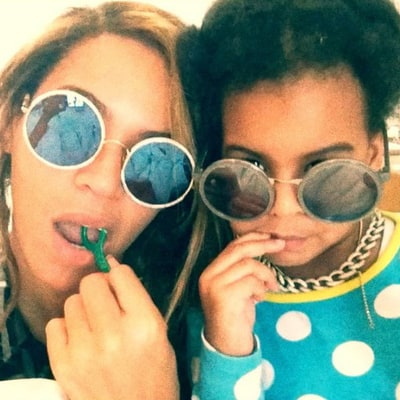 Beyonce and Blue Ivy's Cutest Matching Styles