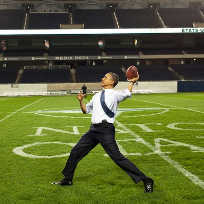 President Obama Shares Super Bowl, NBA Championship Picks