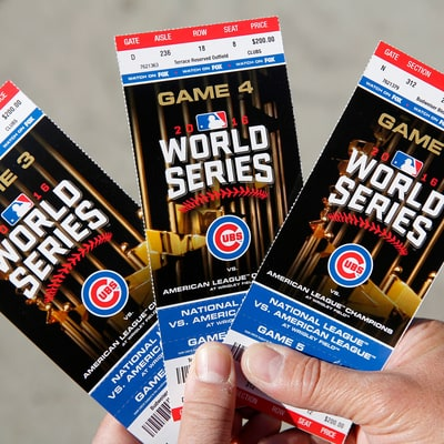 Chicago Cubs World Series Ticket Prices Breaking Records