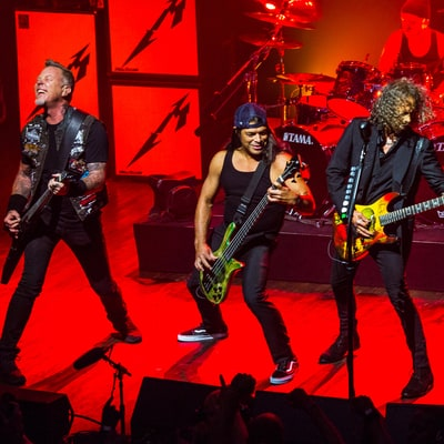 Metallica Bridge Past and Future at Electrifying Club Gig