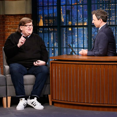 See Michael Moore Beg Trump to Stop Tweeting, Attend Security Briefings