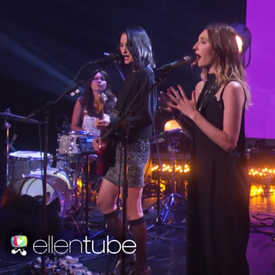 Watch Warpaint Perform Seductive New Song 'Whiteout' on 'Ellen'